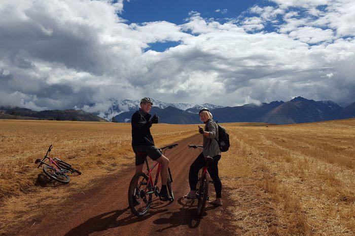 BICYCLE TOUR OF MORAS AND MORAY, SALT MINES